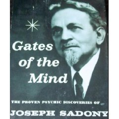 Cover of Gates of the Mind by Joseph Sadony