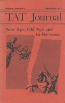TAT Journal Cover Issue 1